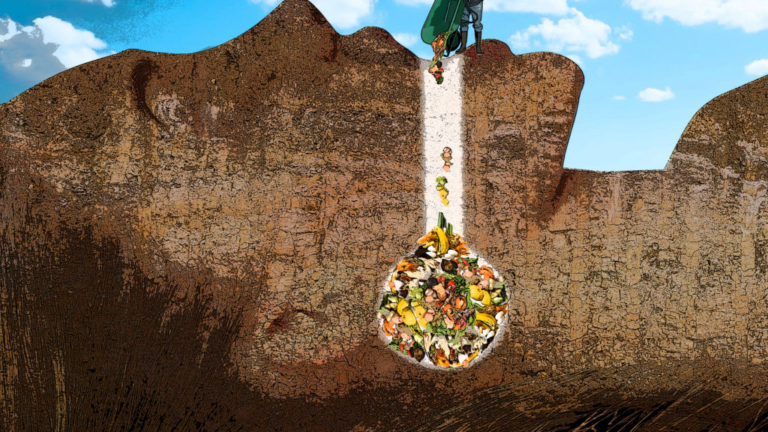 In a quest to save the earth — and a little cash — the push for curbside composting